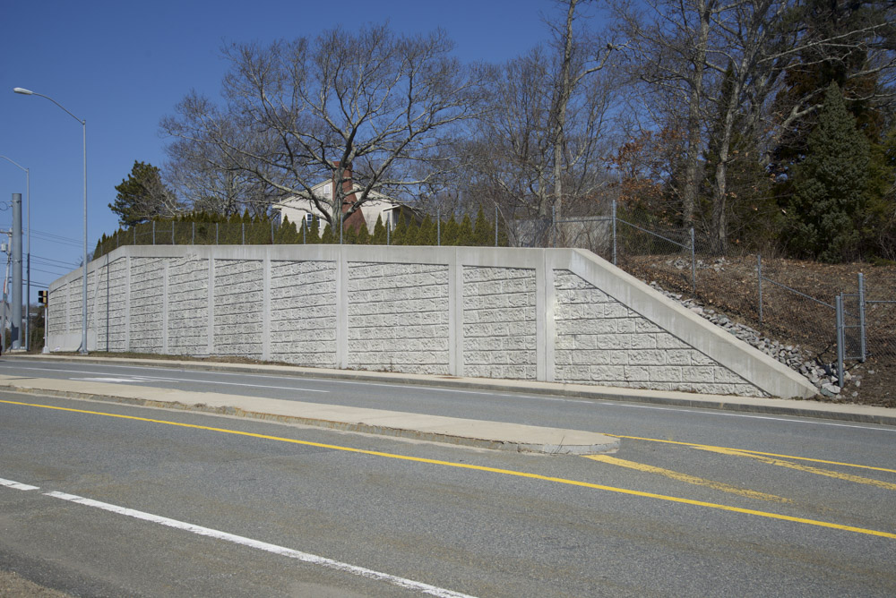 three retaining walls mhd sagamore flyover
